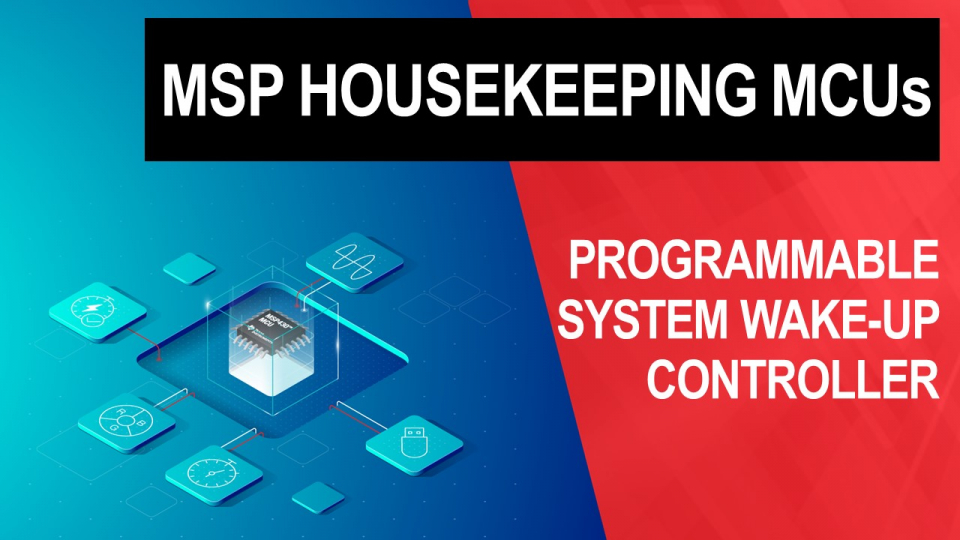 msp, msp430, microcontroller, housekeeping mcu