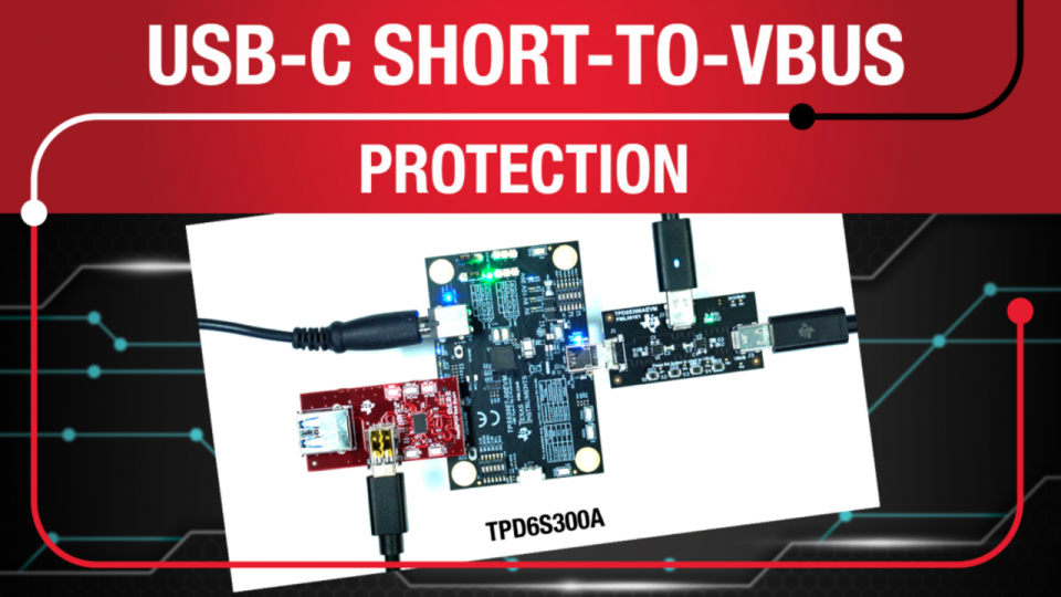 usb type-c port protection, usb-c short-to-vbus