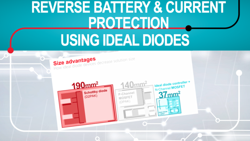 discover the tradeoffs of discrete reverse battery and reverse current circuits