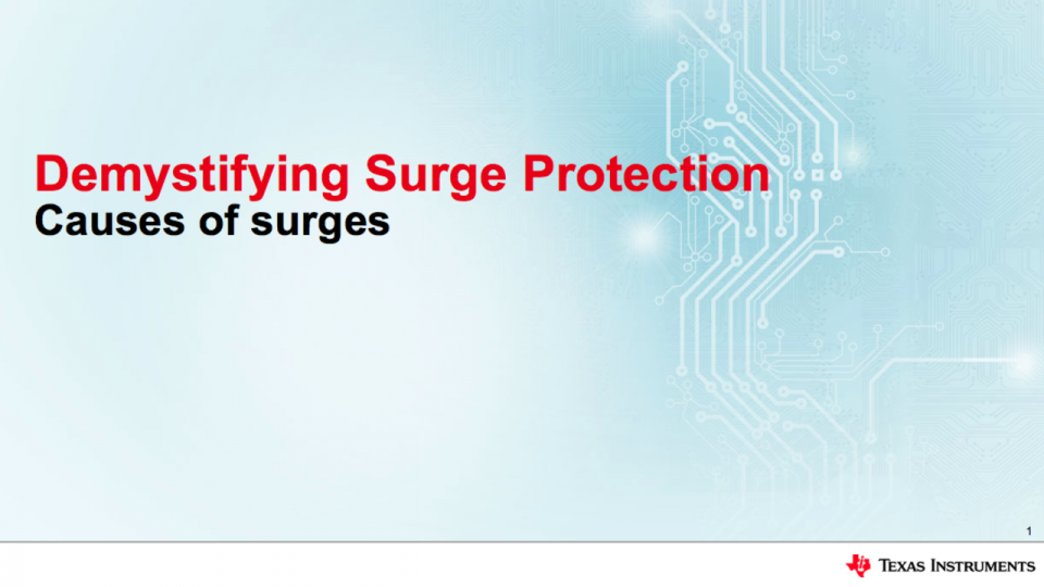 surge protection solution information