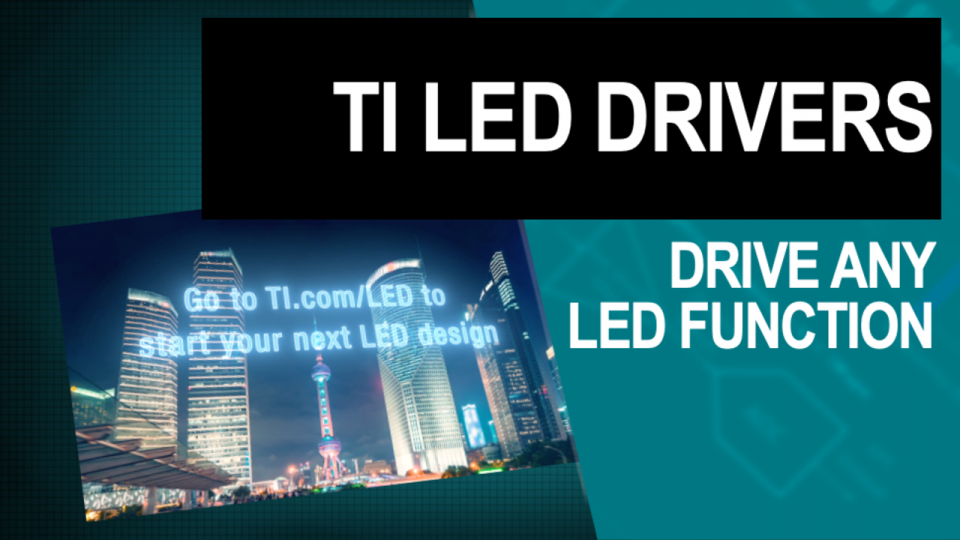 Explore our broad portfolio of LED drivers for automotive, backlighting, RGB, display and illumination applications.