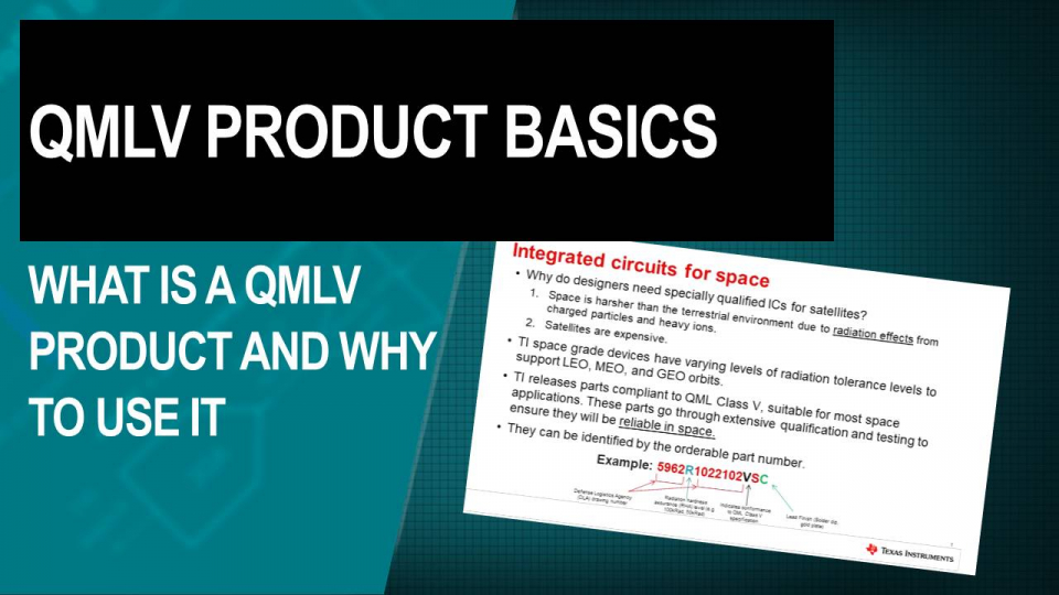 What is a QMLV Product