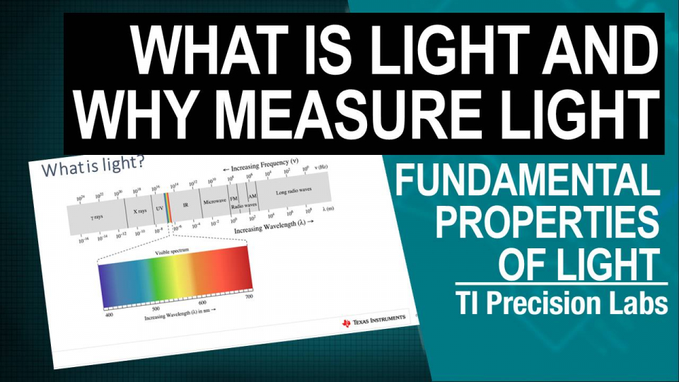 What is light and why measure light