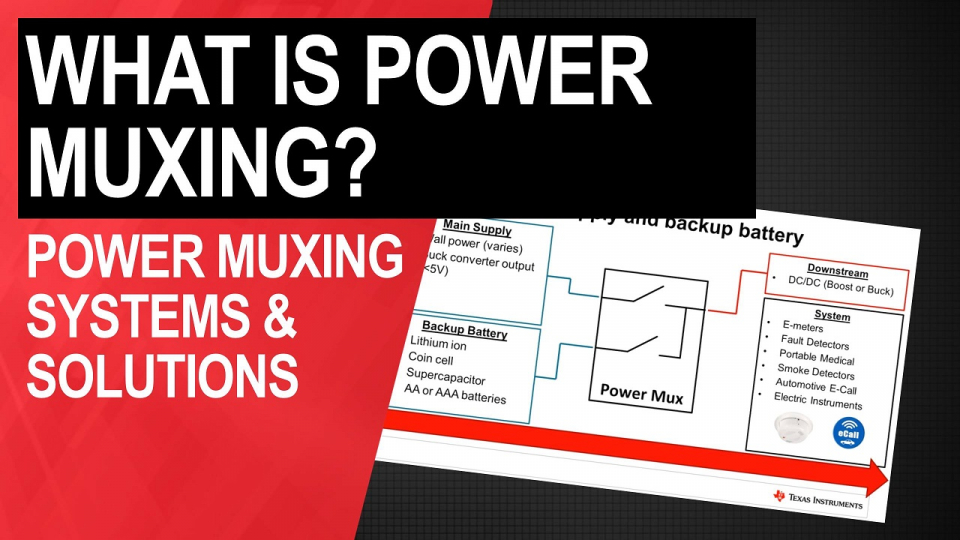 Foundational training for power muxing